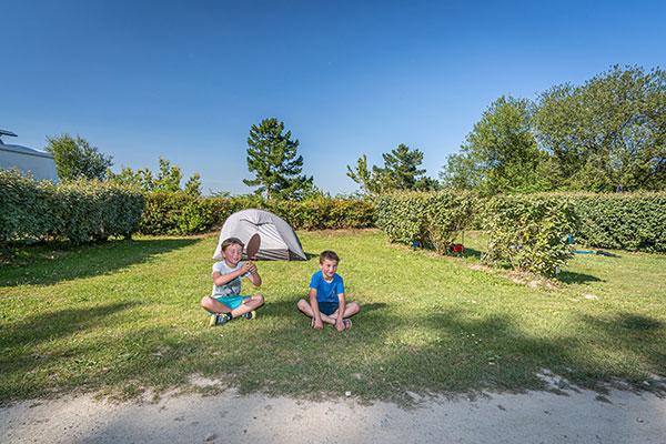 emplacements tente Finistère sud