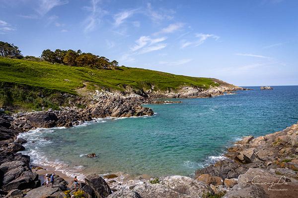 La mer d'Iroise en Finistère sud